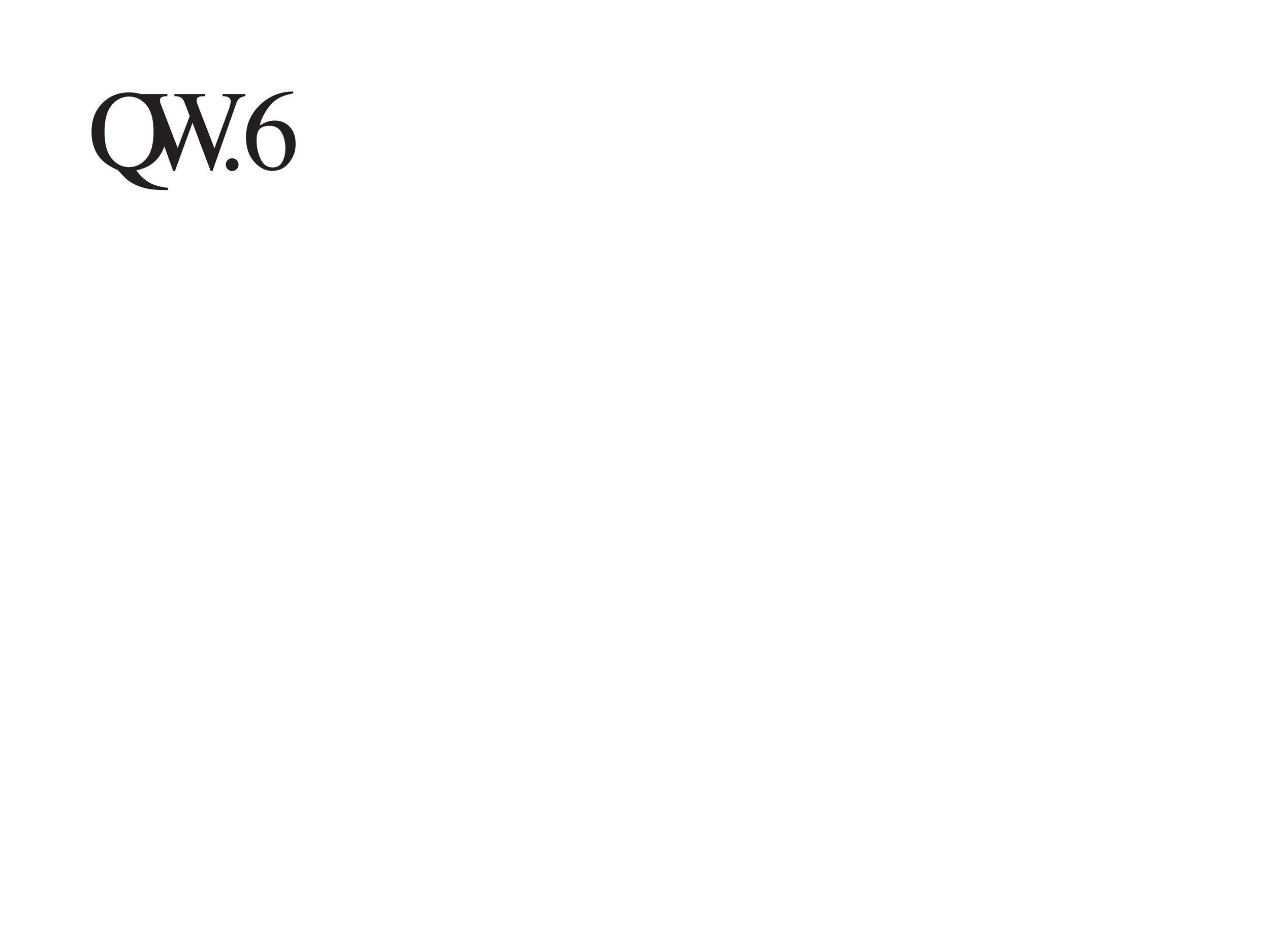 Senza Titolo (QW6)